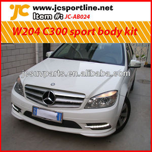 For 2005-2012 Mercedes Benz W204 C300 sport body kit