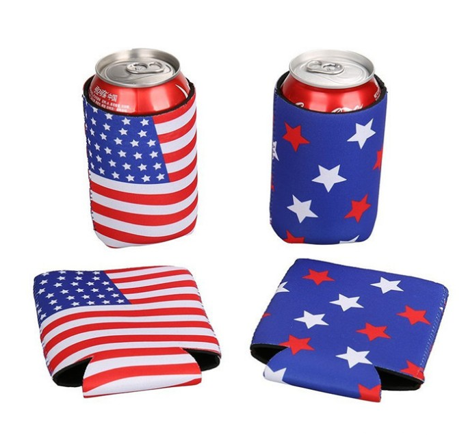 Hot Sale Cheap Neoprene Promotional Beer Can Cooler With Custom Logo