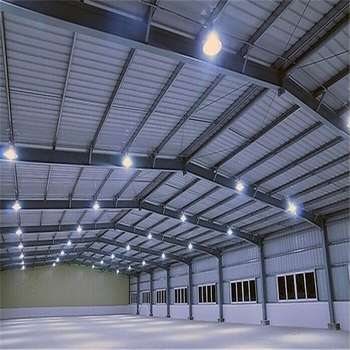 low price steel structure prefab garage