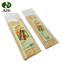Eco-Friendly Personalized Disposable Wholesale Bamboo Knot Barbecue Skewers/Stick
