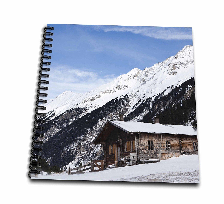 Danita Delimont - Cabins - Mountain cabin, National Park Hohe Tauern, Austria - EU03 MZW0246 - Martin Zwick - Memory Book 12 x 12 inch (db_135568_2)