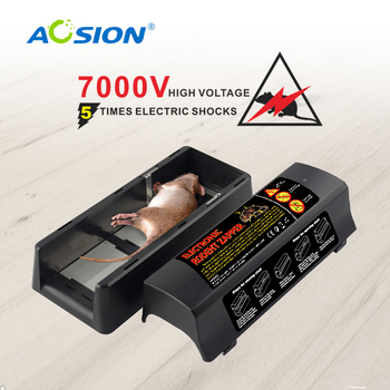 Aosion 2 years warranty best selling electronic trap rat killer AN-C555