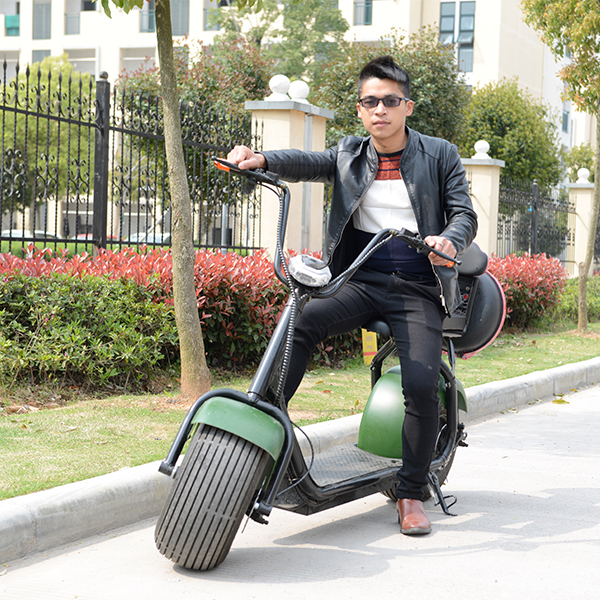 2018 new products big two wheels citycoco 1000W 60V electric scooter for adult