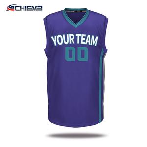 8b05b38d8b96 Wholesale blank latest sublimation reversible customized basketball shirt  design