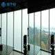 High quality clear tempered switchable privacy smart tint electric glass