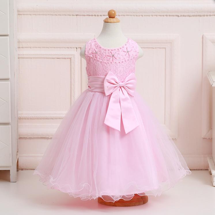 Venta al por mayor vestidos de niñas sencillos patrones-Compre ...