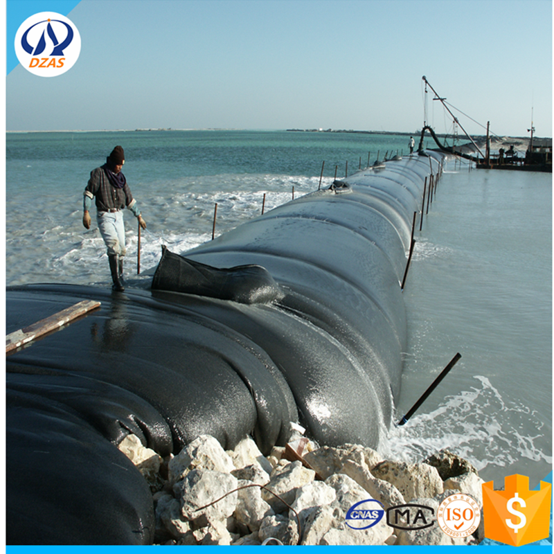 Control of coastlines and the construction of artificial islands woven bag WH-DZAS-400 Geotube