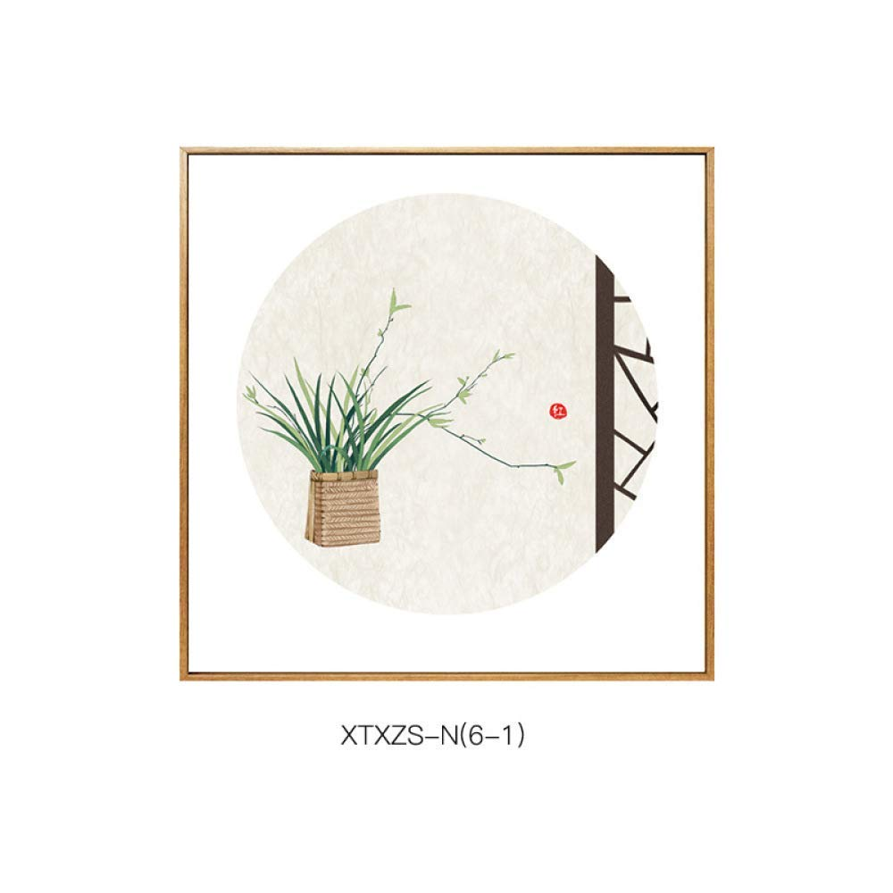 PLLP Simple new Chinese-style flower and bird pattern, elegant and warm home living room bedroom paintings, porch decorative painting