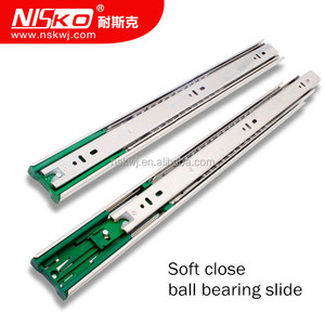 Push To Open Teflon Electrical Ball Bearing Kitchen Cabinet Soft Close Tool Box Dtc 533 Drawer Slides