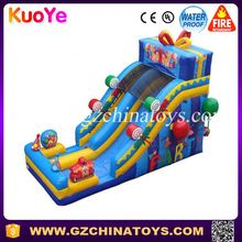 indoor jungle theme slide with stopper