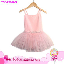 Tiny Dancers Petal Perfect Stage Performance Braces Strap Organza Fluffy Tutu Dress