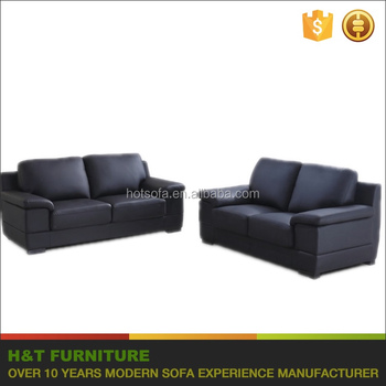 Guangzhou Furniture Market Dark Blue Couch Living Room Leather Sofa ...