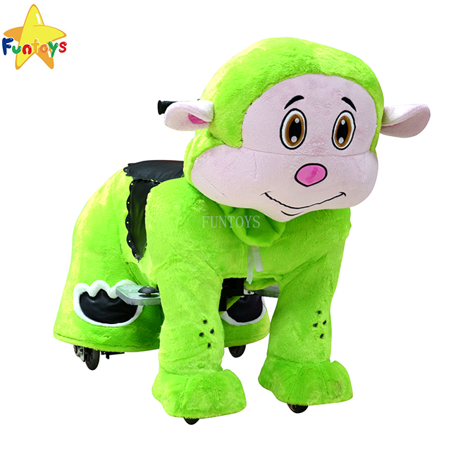 Funtoys CE kid electric bouncing running horse toy