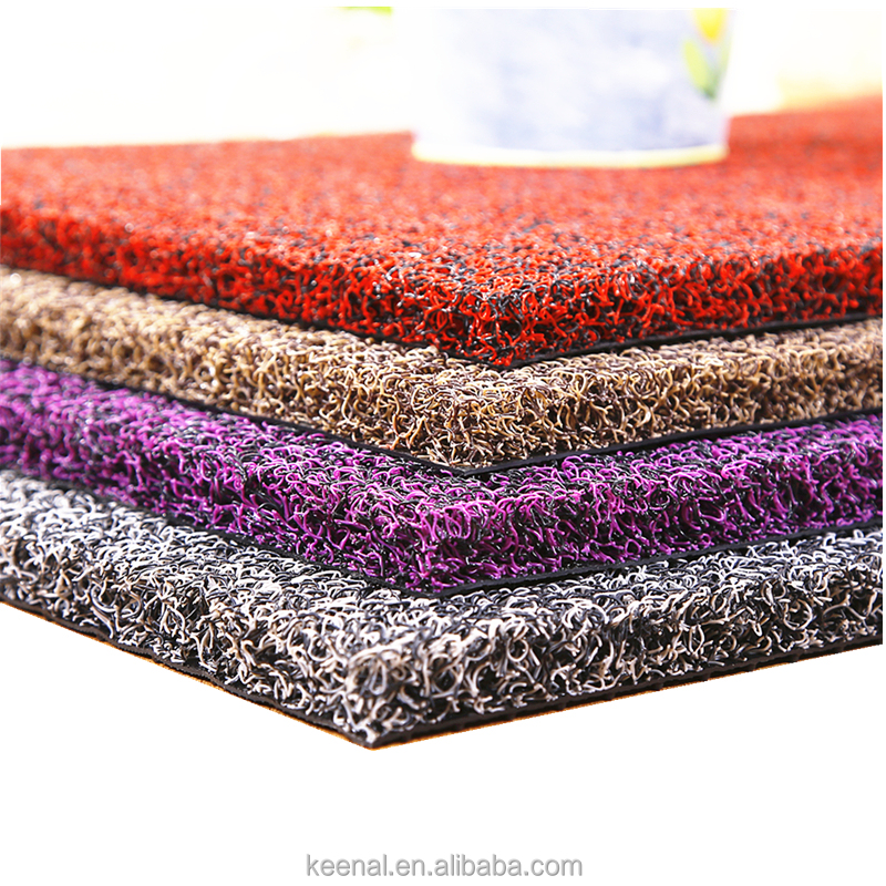 2017 Hot Sale Pvc Floor Mat Pvc Coil Carpet With Foambacking