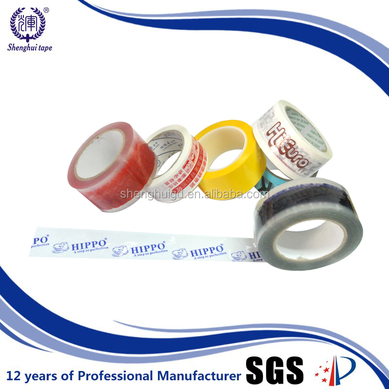 Factory producting Bopp Packing Tape used for binding or sealing box /carton