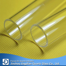 JD Clear Heat Resistant Silicate Glass Quartz Tube
