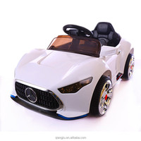 kids plastic toy/electric kids ride on toy car/ battery power kids car with rc