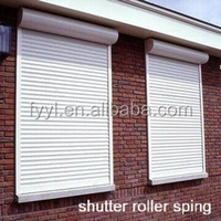 customized one-hole roller shutter spring piece/roller shutter spring piece/customized roller shutter spring