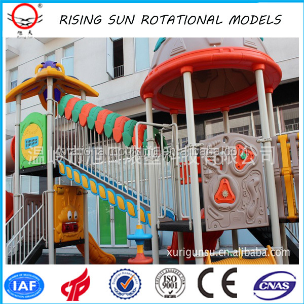 customized plastic toys making rotational mould