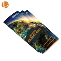 Cheap Luxury Design Custom Service Offset A4 A5 A6 Trifold Leaflet Flyer Brochure Printing