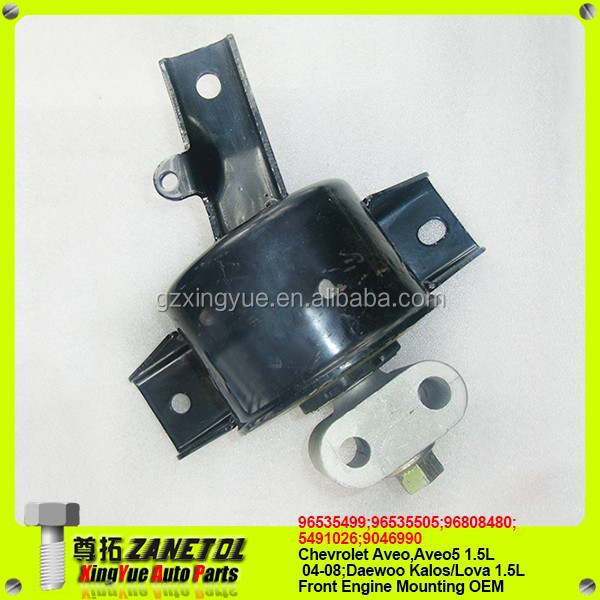 8200281 96535499 96535505 96808480 5491026 9046990 Manual transmission mounting Engine mounting Chevrolet Aveo 04-08 Aveo5 06-08