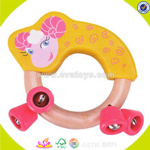 wholesale fashion kids wooden bells children wooden bells W07I120