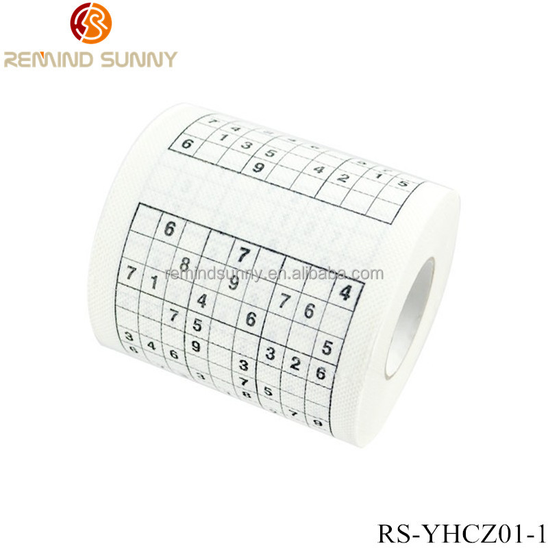 Thumbs Up UK Sudoku Toilet Paper