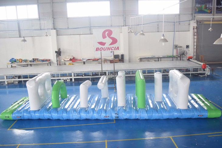 Swimming Pool Kids Inflatable Floating Obstacle Course For Sale Buy Inflatable Obstacle Course