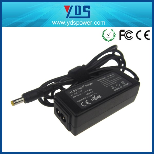 China Supplier 12v 3a 36w 4.8*1.7 Mm Bullet Notebook Solar Laptop ...