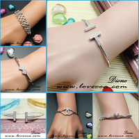 2015 New Arrival hot sale new fashion personalized bracelet silver 925