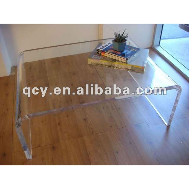 Oversized Acrylic Waterfall Table   Buy Oversized Acrylic Waterfall Table, Acrylic Coffee Table,Acrylic Lucite Waterfall Console Table Product On  Alibaba.com