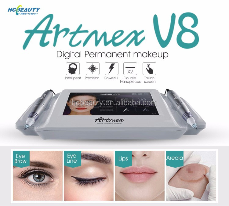 MTS + PMU digitale permanente make machine artmex v8 met 2 intelligente pen