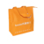 Promotional kraft bag luxury white paper bags with handles