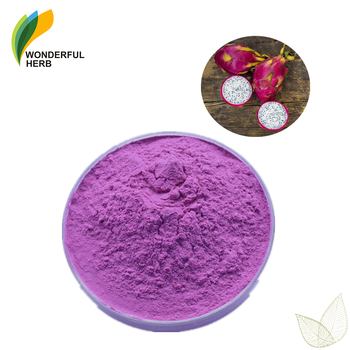Red organic pitaya powder freeze dried juice extract pink dragon fruit nutrition