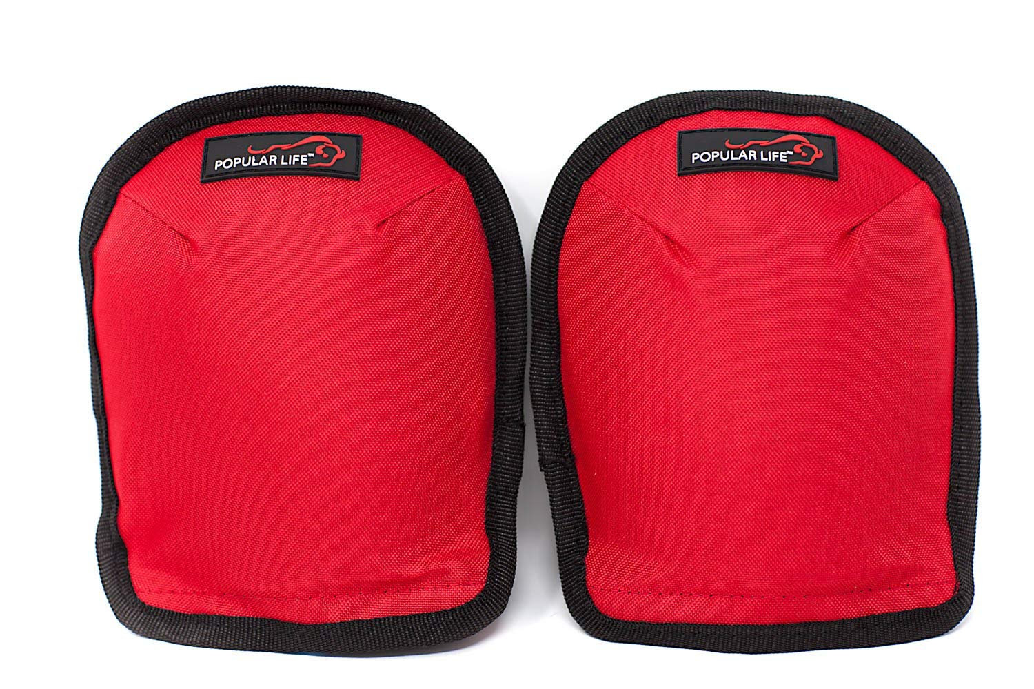 POPULAR LIFE Original Washable Knee Pads   Home & Gardening Knee Pads with Removeable and Replaceable Foam Pad Insert, Easy Fit with Adjustable Hook and Loop Closure Straps