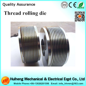 Precision Thread Roll Dies and Parts for Machines