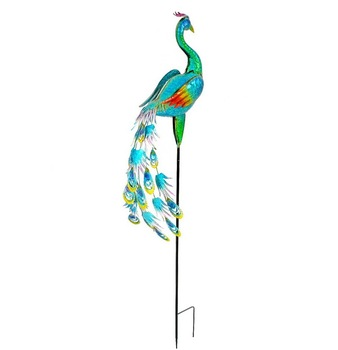 metal peacock Animal Decoration Garden Stakes Metal Peacock - Buy
