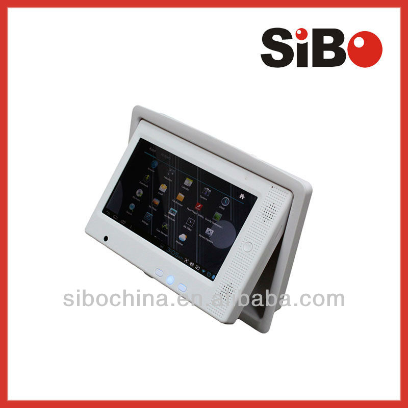 Flush Mount Android Tablet With Serial Port And Four Wire External USB Camera For Embedded Applications