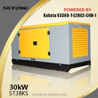 Home use wind turbine generator powered by Kubota Engine Generator