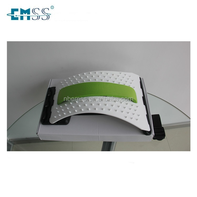 China professional manufatures Back Stretching Plus Waist Relax Mate Back Waist Massage Magic Stretcher Fitness