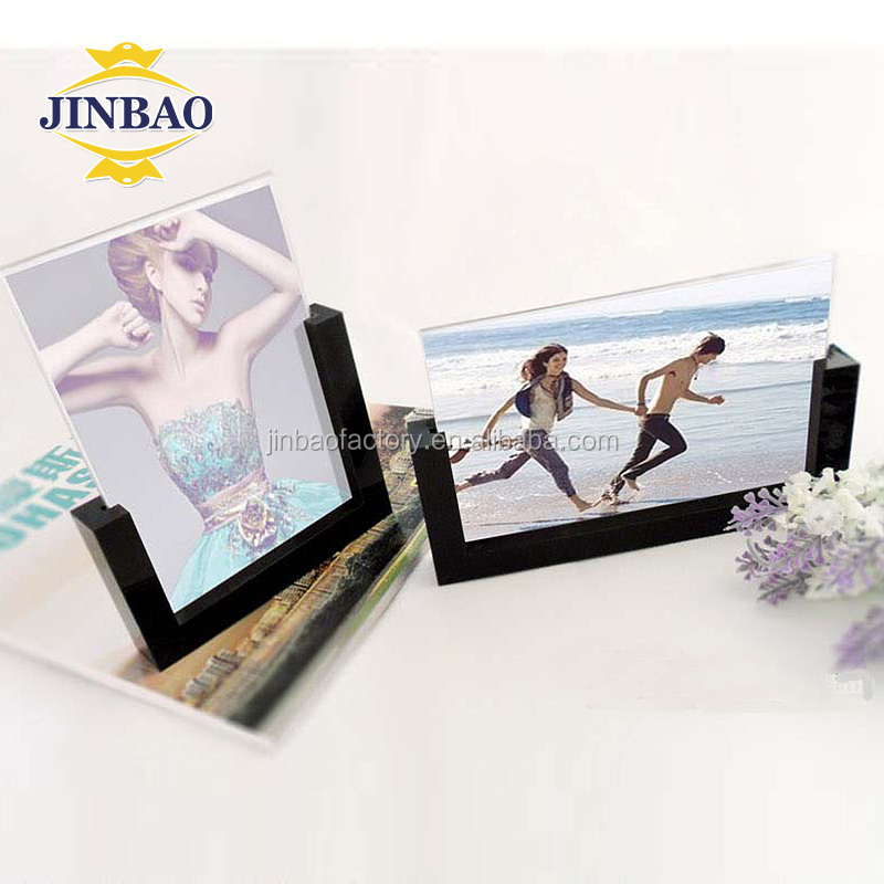 JINBAO magnetic acrylic picture frame with wave patterns