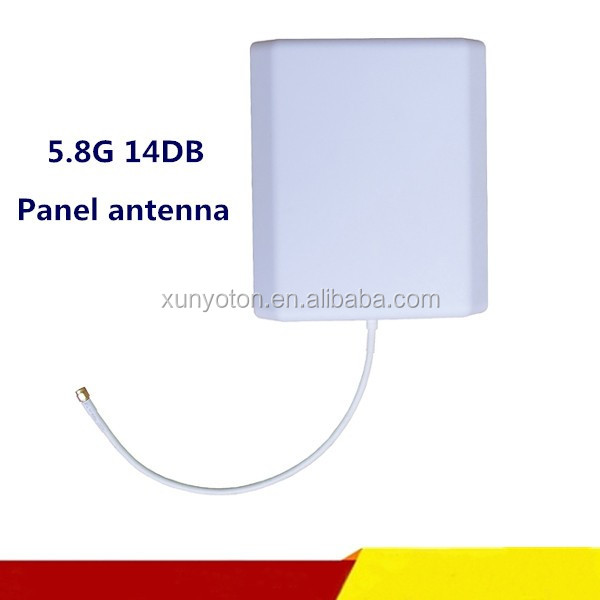 Hot Selling Wall Mount outdoor 14dbi Panel antena wifi 5.8ghz