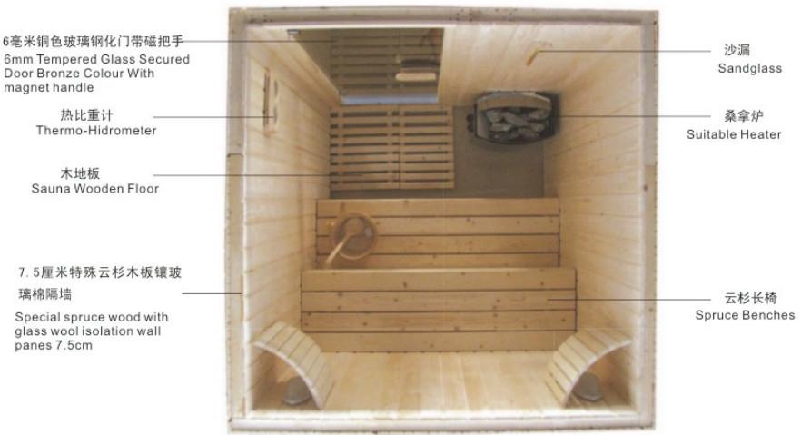 sauna machine