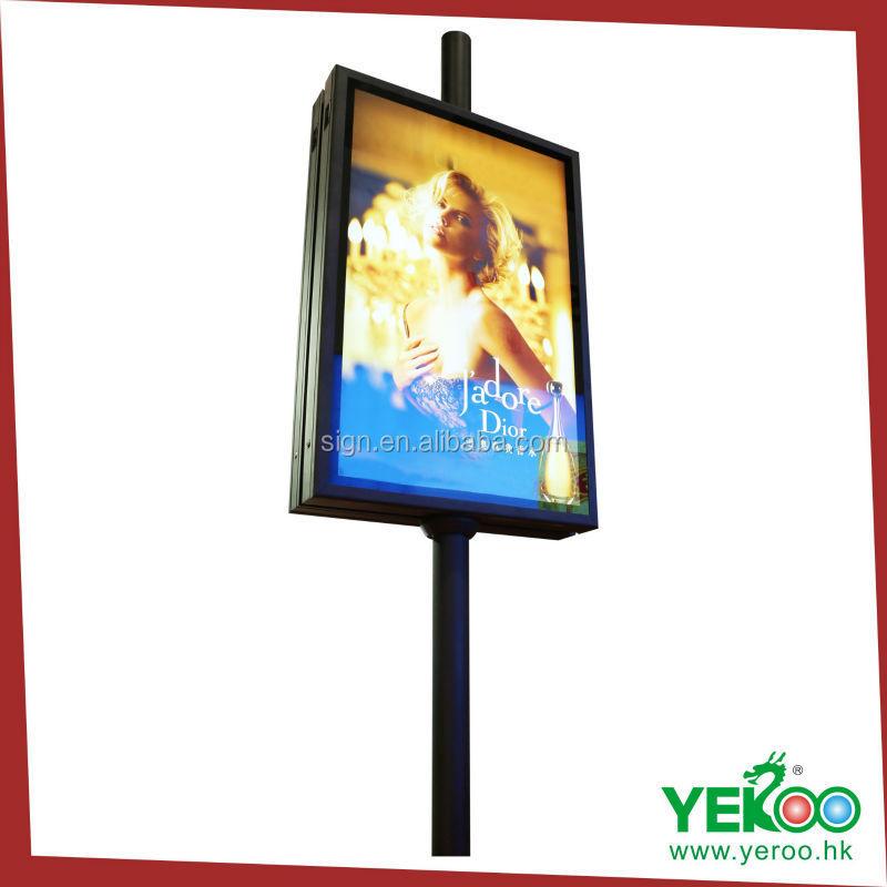 Beer Picture Frame Light Box Foshan Yeroo Street Pole Oem High ...
