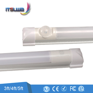 China LED supplier emergency T8 tube with built-in battery backup motion sensor light