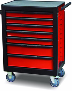 Hot Sale Mobile Tool Chest Cabinet with 7 Drawers for Workshop
