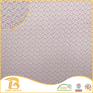 wholesale custom fine nylon big hole mesh knit fabric
