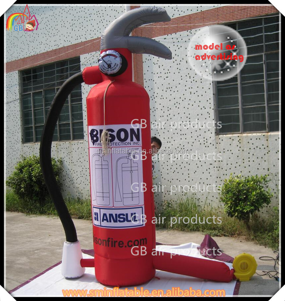 advertising equipment inflatable fire extinguisher , advertising inflatables made in China