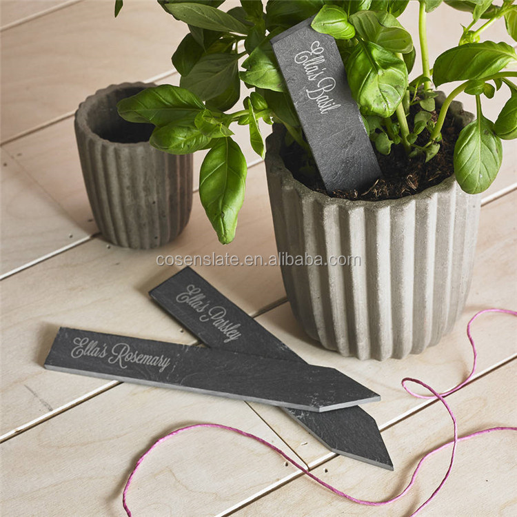 Cheap price garden tag / garden slate marker /natural slate plant label