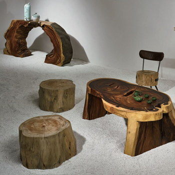 Solid Wood Industrial Original Ecological Furniture